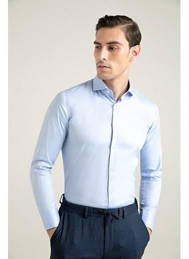 Damat Gömlek Mavi